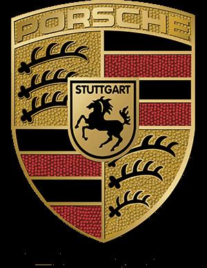porsche logo video